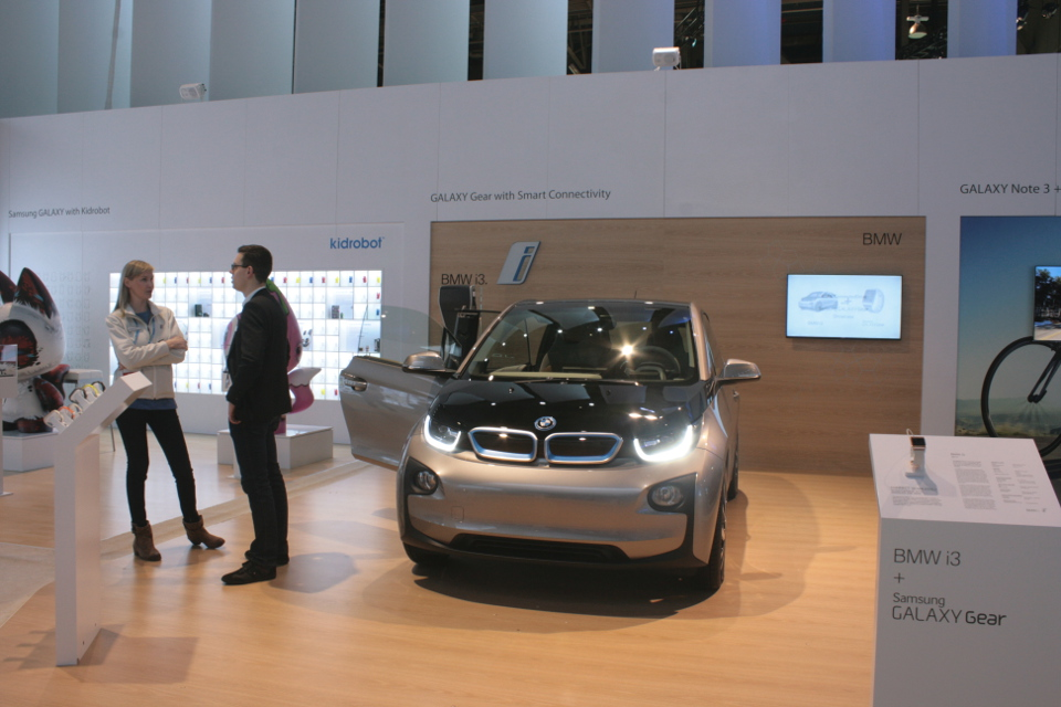 BMW i3 Samsung 2014 CES