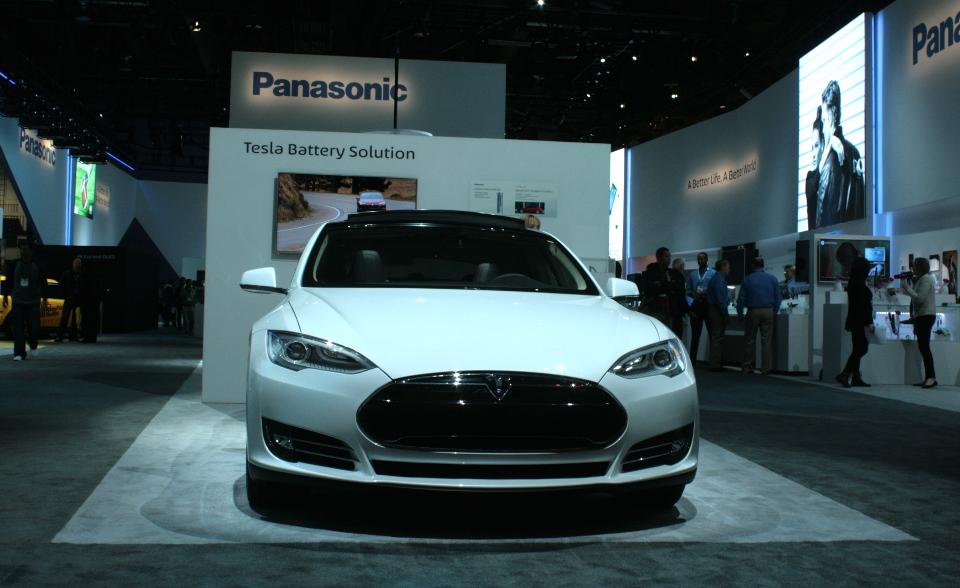 Panasonic Tesla 2014 CES