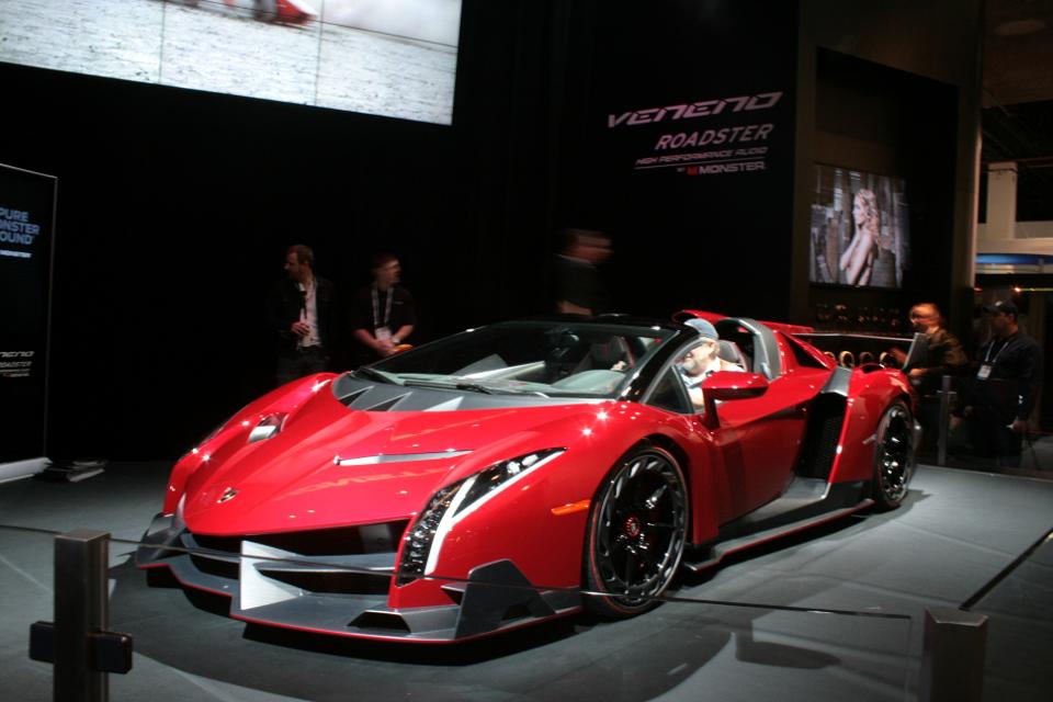 Lamborghini Veneno for Monster Audio 2014 CES