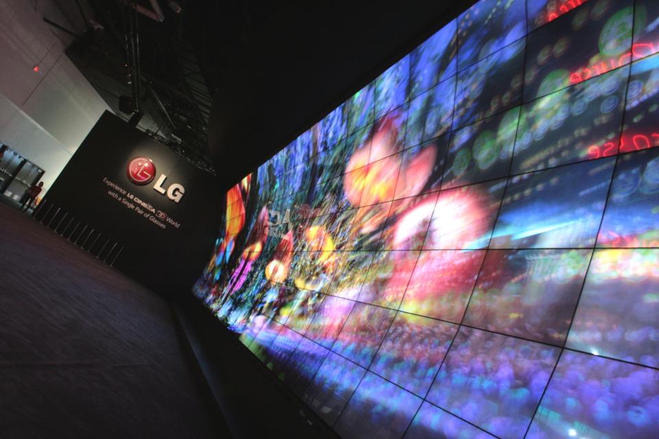 LG Cinema 3D 2014 CES