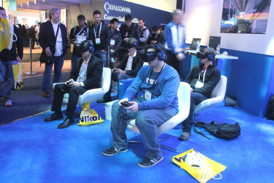 Oculus Rift VR Headset 2014 CES