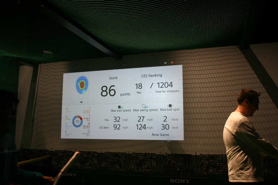 Sony Tennis Racket Sensor