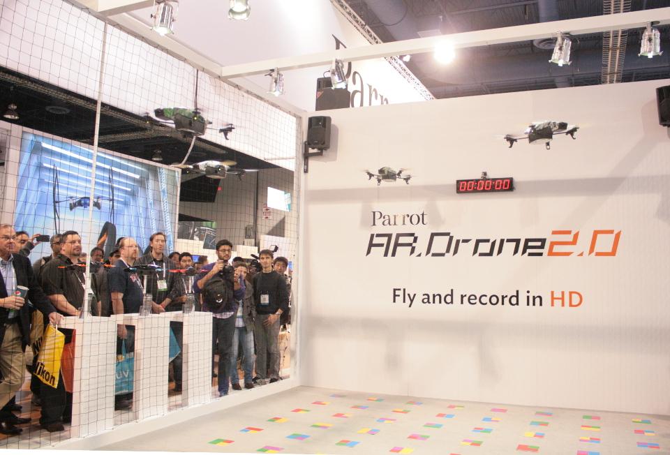 Parrot AR Drone 2.0 Demo