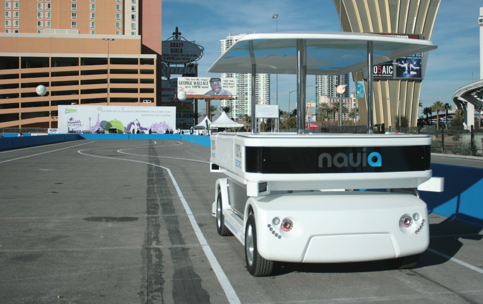 Navia Electric Automted Transport  2014 CES