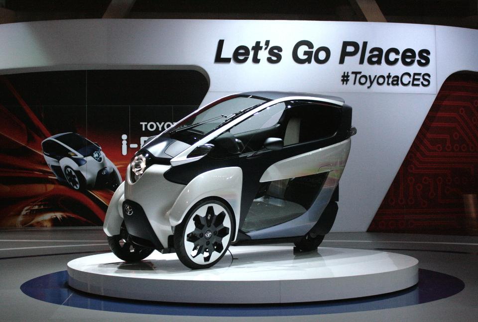 Toyota iDrive Concept Car 2014 CES