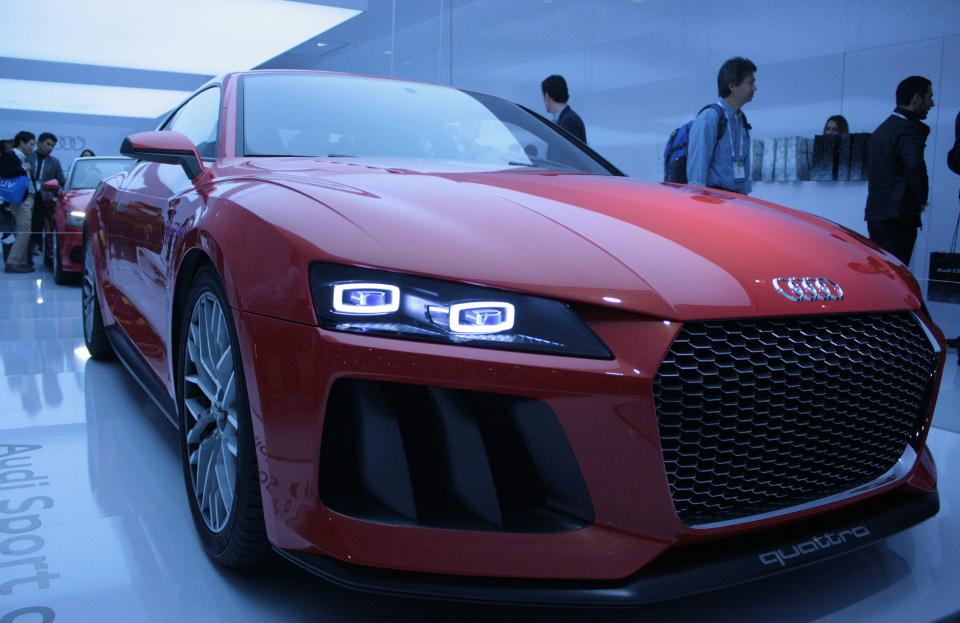Audi Quattro Concept with LaserLight