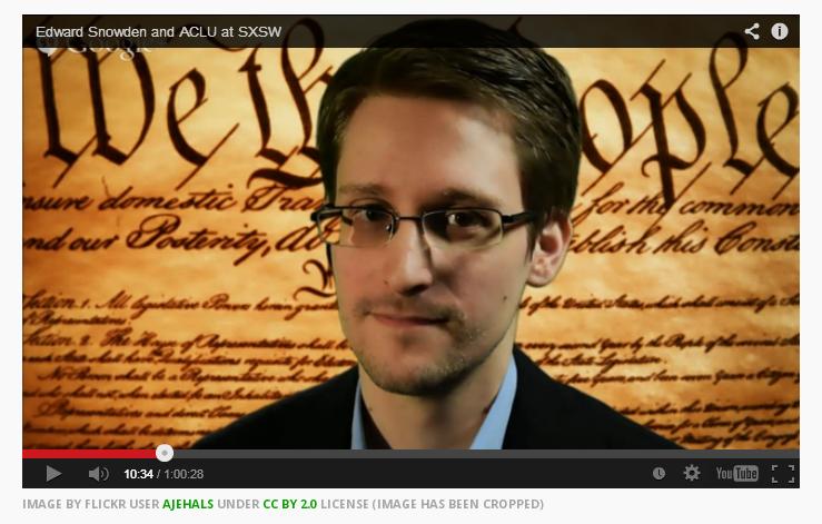Snowden SXSW