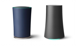 Original OnHub Router on left, Asus Router on right